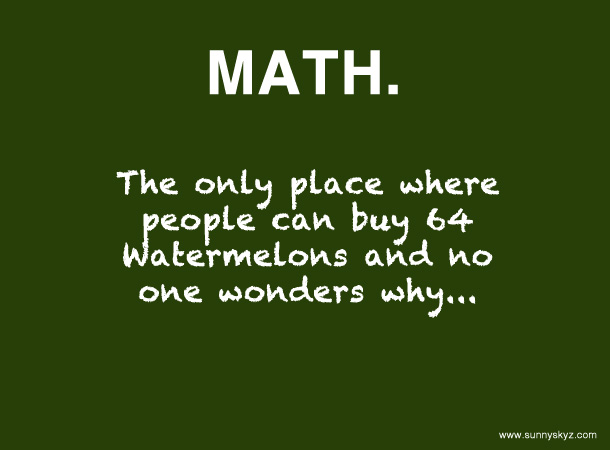 funny math quote