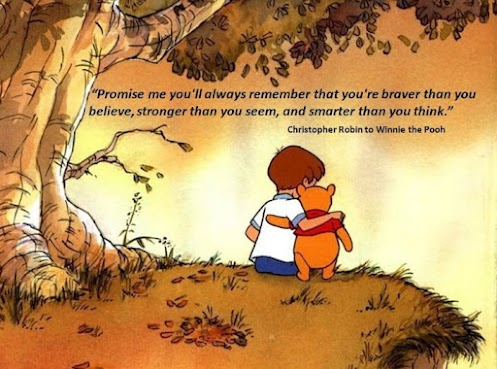 christopher robin to winnie the pooh quote