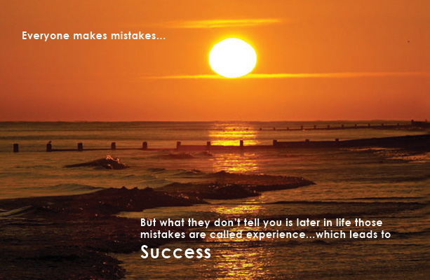 mistakes to success
