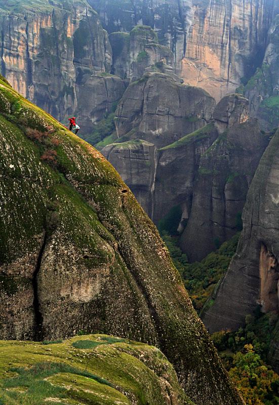climbing the holy rocks