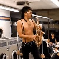 Sexy sax man