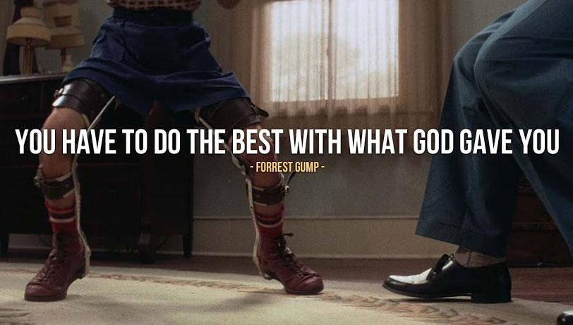 Inspirational Quote from Forrest GumpForrest Gump Quotes Wallpaper