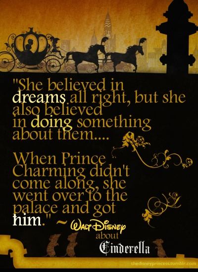 walt disney quotes cinderella