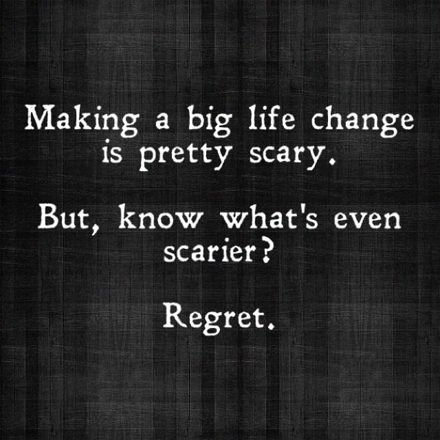 live not regret