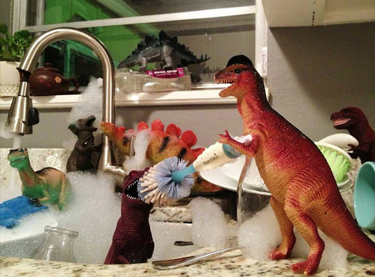 dinosaur toys come to life