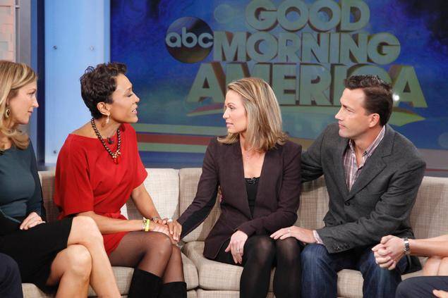 amy robach breast cancer live tv