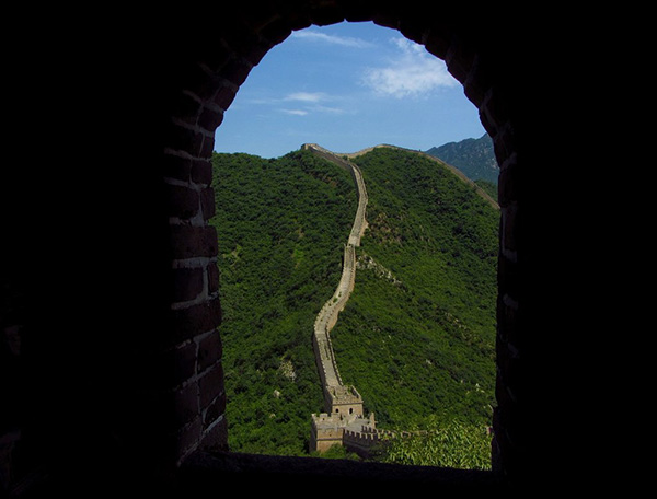 great wall of china hike