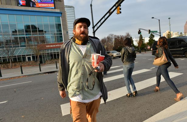 homeless man returns lost wallet in Atlanta