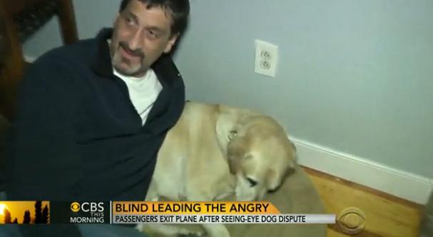 blind man kicked off plane