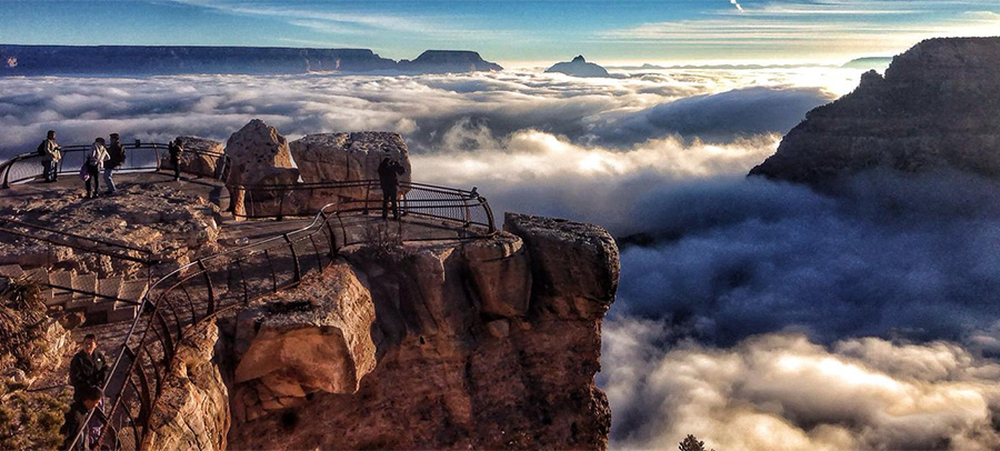 grand canyon flooded