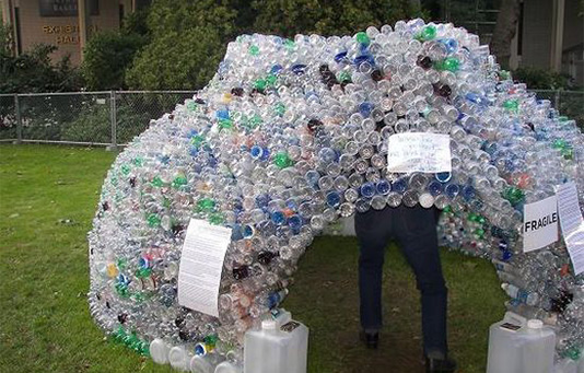 water bottle homes
