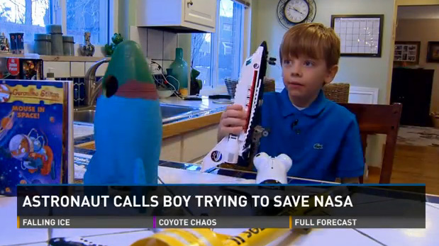connor to save nasa