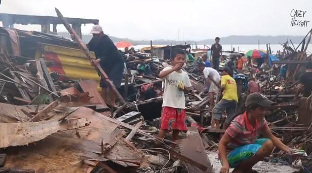 filmmaker spends budget on Philippines relief