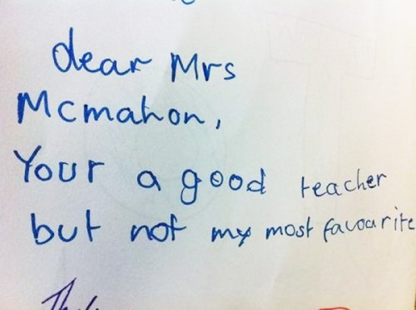 Kids So Honest It Hurts Hilarious Notes That Will Have You