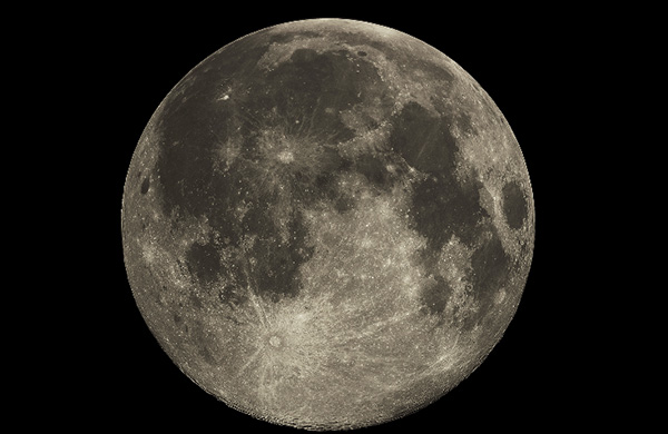 craft on moon