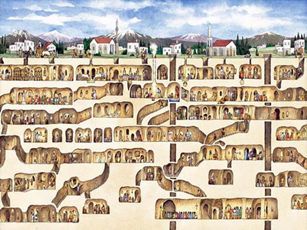 ancient underground cities