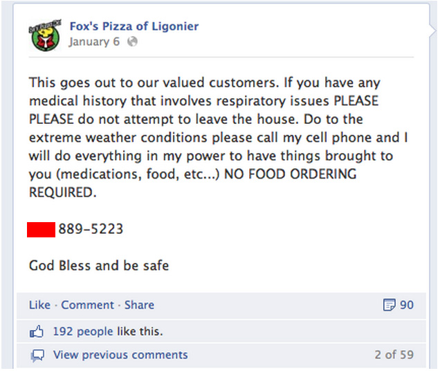 pizza delivery medications