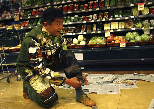 invisible man art liu bolin