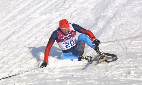 Canada coach helps Russian skiier