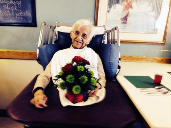 flowers for senior citizens
