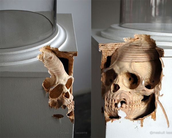 Amazing wood carving sculptures by maskull lasserre