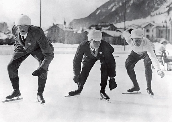 first winter olympics pictures