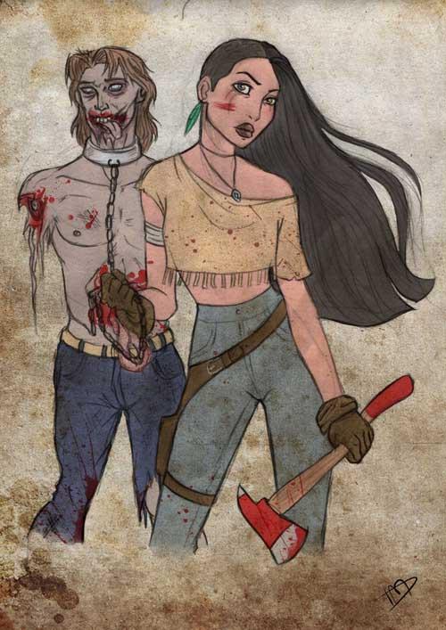 Disney Walking Dead