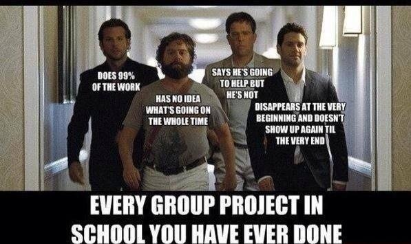 group projects hangover