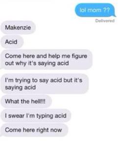mom acid prank