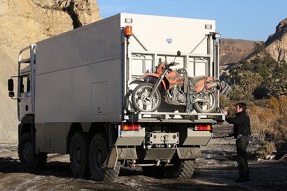 garbage truck luxury home