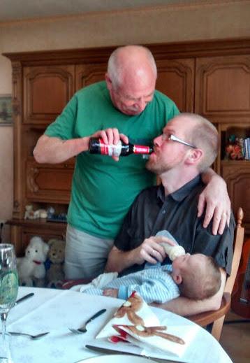 3 generations feeding