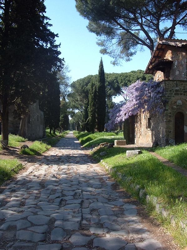 oldest road in Rome
