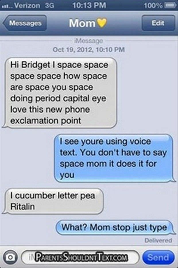 The 27 Funniest Text Messages Between Parents And Their Kids. I Can't ...