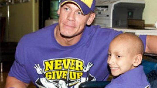 John Cena make a wish