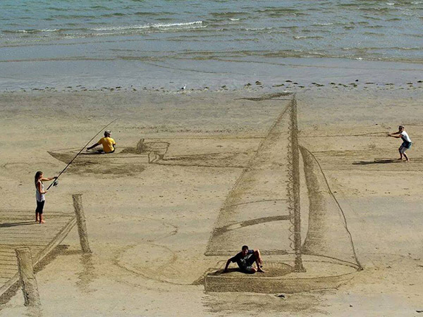 3d sand art new zealand