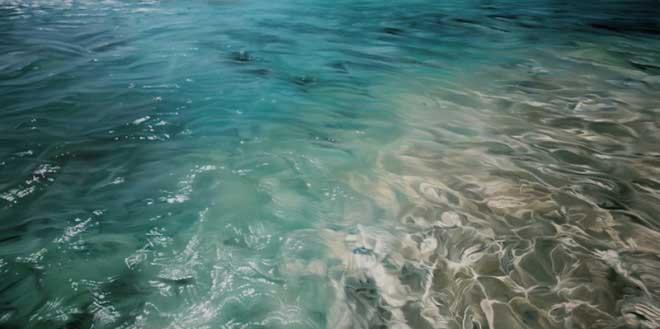 Zaria Forman water