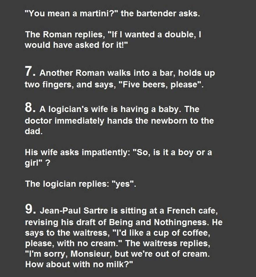 funny jokes for smart people