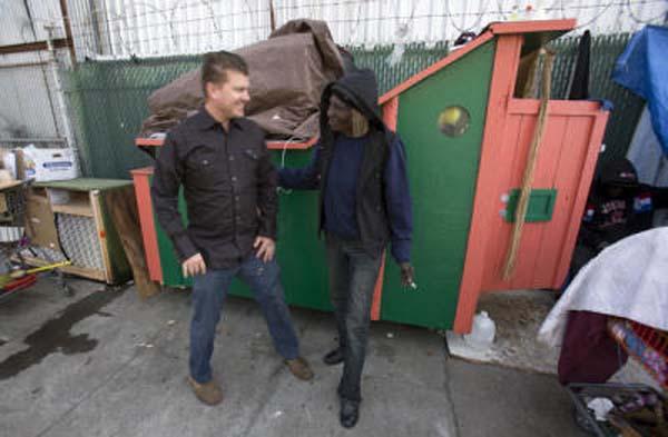 portable homes for homeless