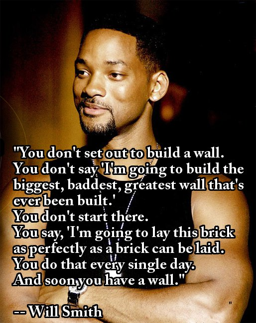 will smith wall quote