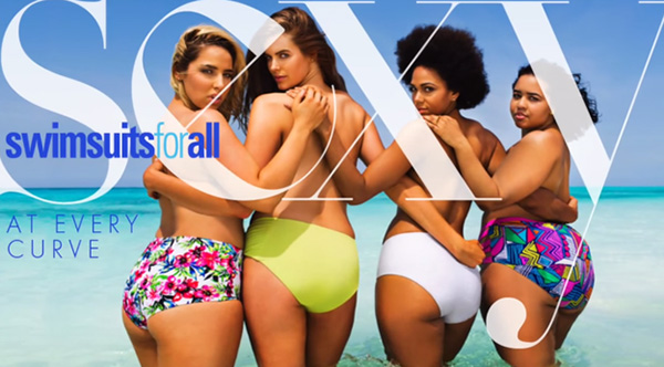 plus size swimsuit models