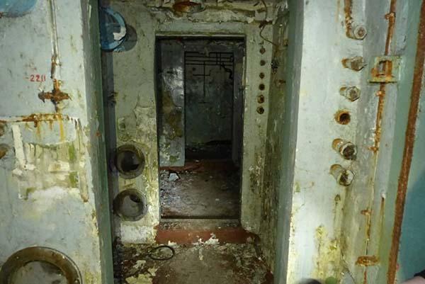 creepy underground bunker