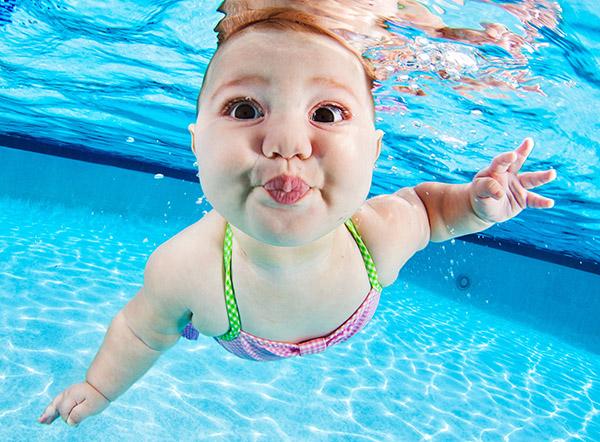 infants under water