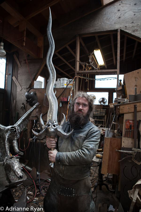 guy makes awesome swords
