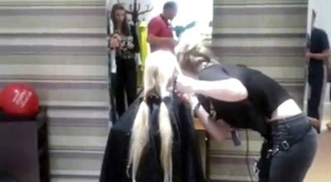 Real-life Rapunzel
