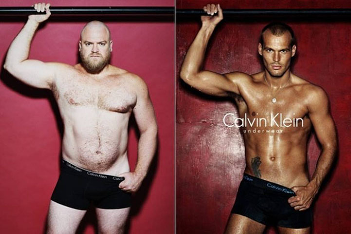 real men underwear ads