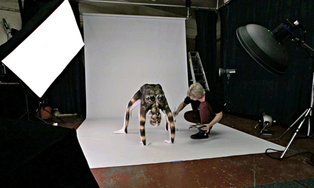 body art spider