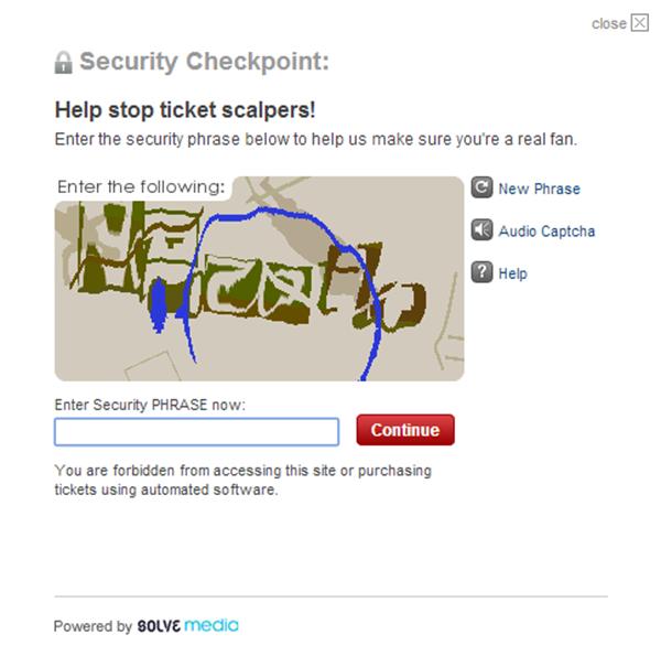 ticketmaster fails
