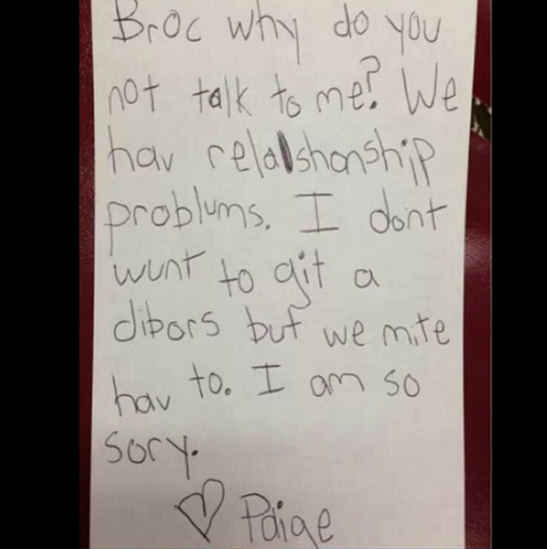 The 8 Funniest Kid Break Up Letters They Really Have A Way With Words – Breakup Letters