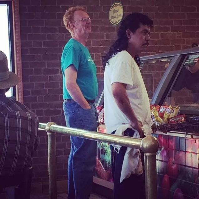 real life middle aged Napoleon and Pedro