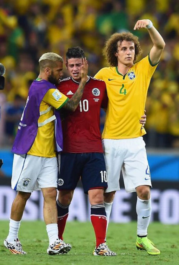 James Rodrigues brazil crying